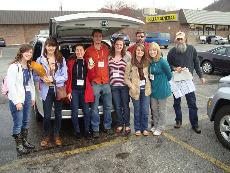 Health Study Team in Kentucky 2012