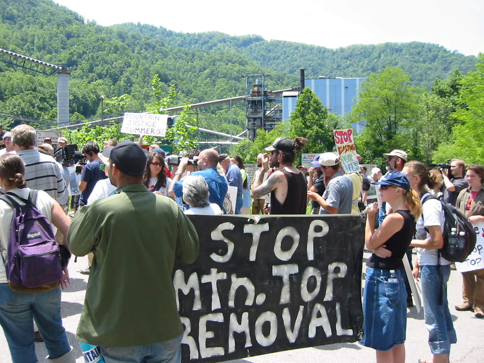 Massey Protest